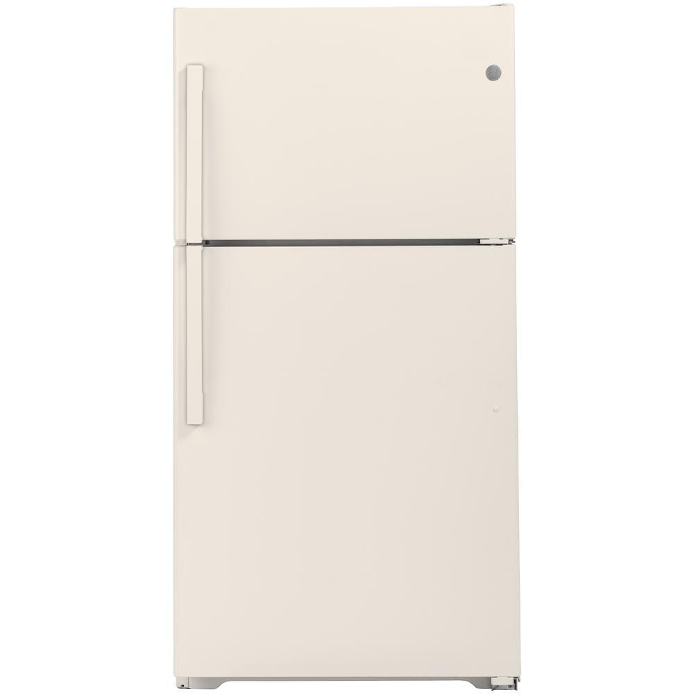 21.9 cu. ft. Top Freezer Refrigerator in Bisque, ENERGY STAR