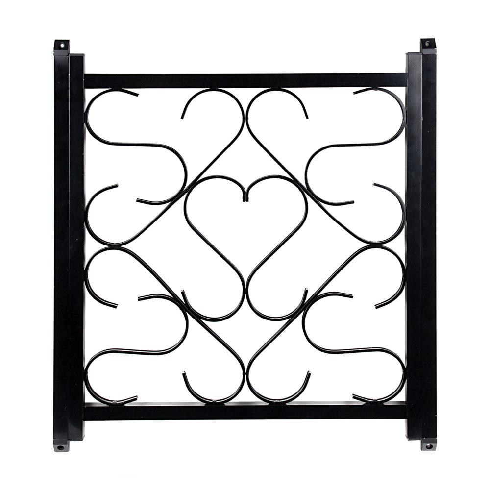 Camco Deluxe Screen Door Grille in Black