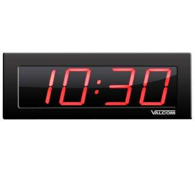 IP PoE 4 in. 4-Digit Digital Wall Clocks