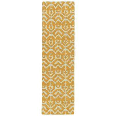 Lakota Butterscotch 2 ft. x 8 ft. Runner Rug