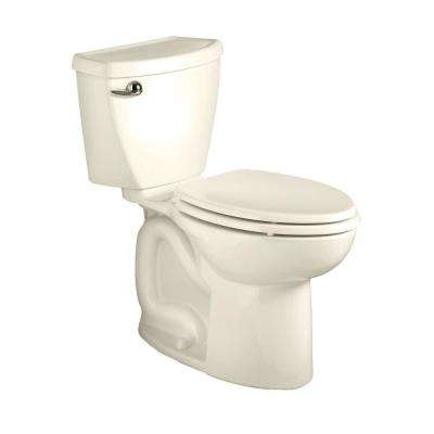 Cadet 3 Powerwash Tall Height 2-piece 1.28 GPF Single Flush Elongated Toilet in Linen, Seat Not Included