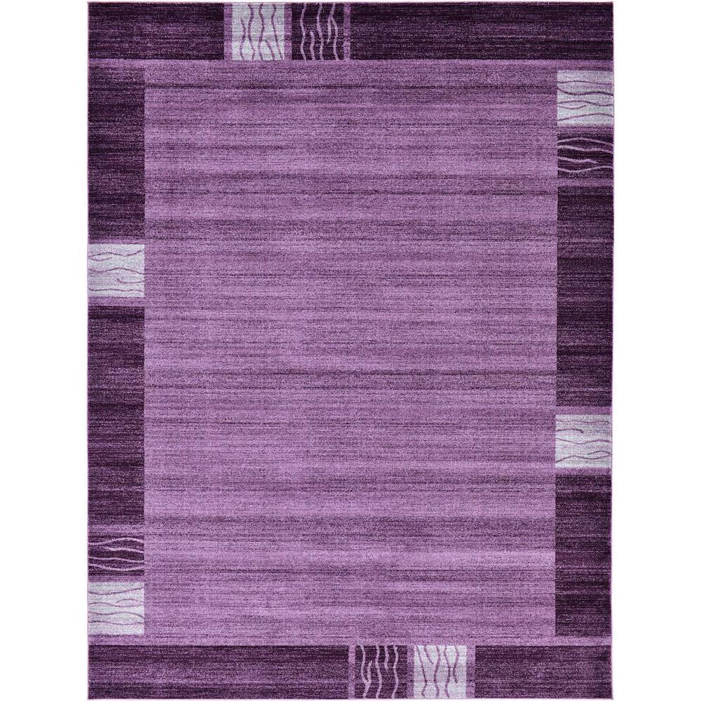 Del Mar Sarah Purple 9' 0 x 12' 0 Area Rug
