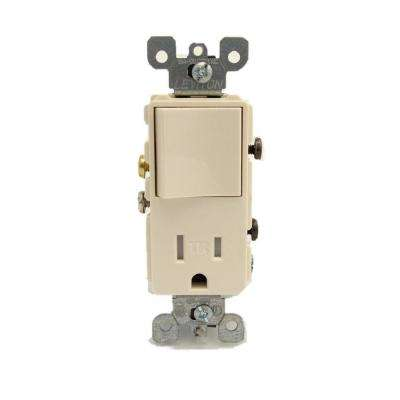 660-Watt Double Light Socket Adapter, Ivory