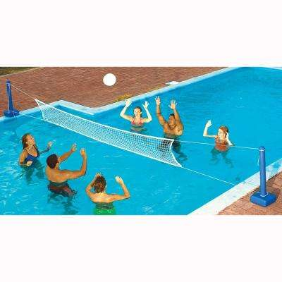 Jammin In-Ground Cross Pool Volleyball Game