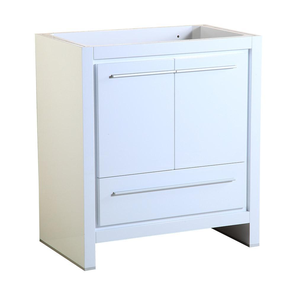 Fresca Allier 30 in. Modern Bathroom Vanity Cabinet in White ...