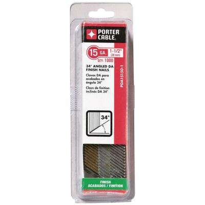 1-1/2 in. x 15-Gauge Glue Collated Nail (1000 per Box)