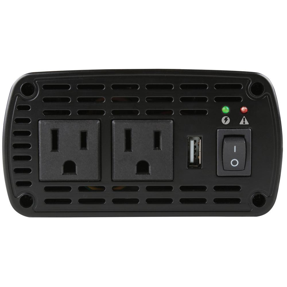 800 Watt High Power Inverter in Black