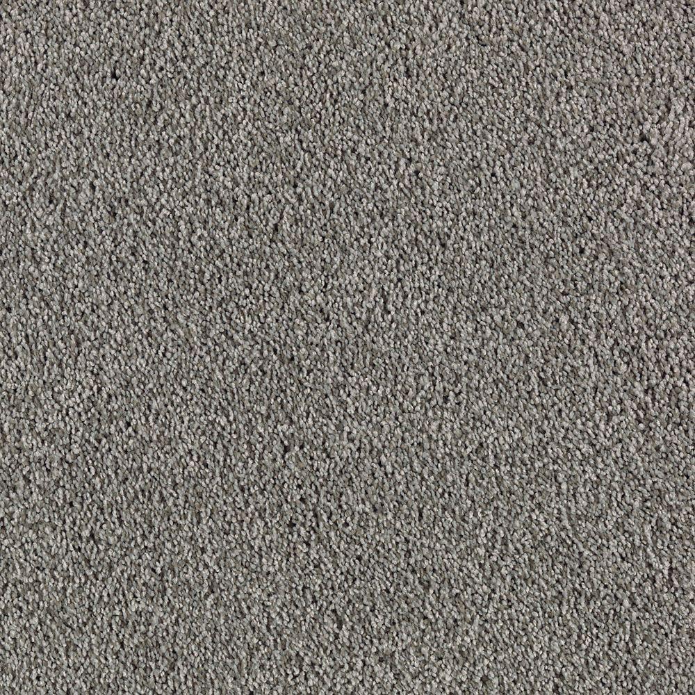 Durst I - Color Fedora Grey Texture 12 ft. Carpet