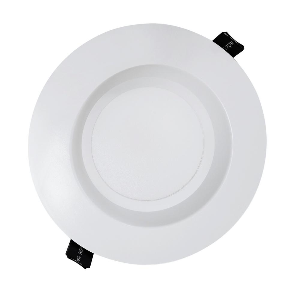 Nicor housing free 6 in white integrated led recessed - Downlight led para cocina ...