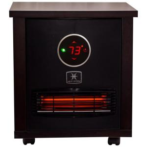 Logan Classic 1,500-Watt Infrared Quartz Portable Heater with Built-In Thermostat and Over Heat Sensor