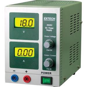 Extech Instruments 18-Volt DC Power Supply (3-Amp for Mike B) by Extech Instruments