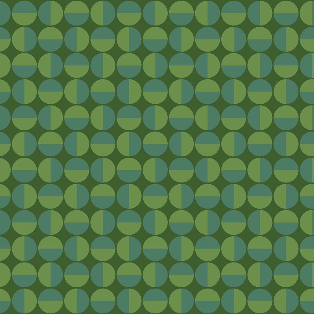 578 Sq Ft Vertigo Green Geometric Wallpaper Wv1777 The Home Depot