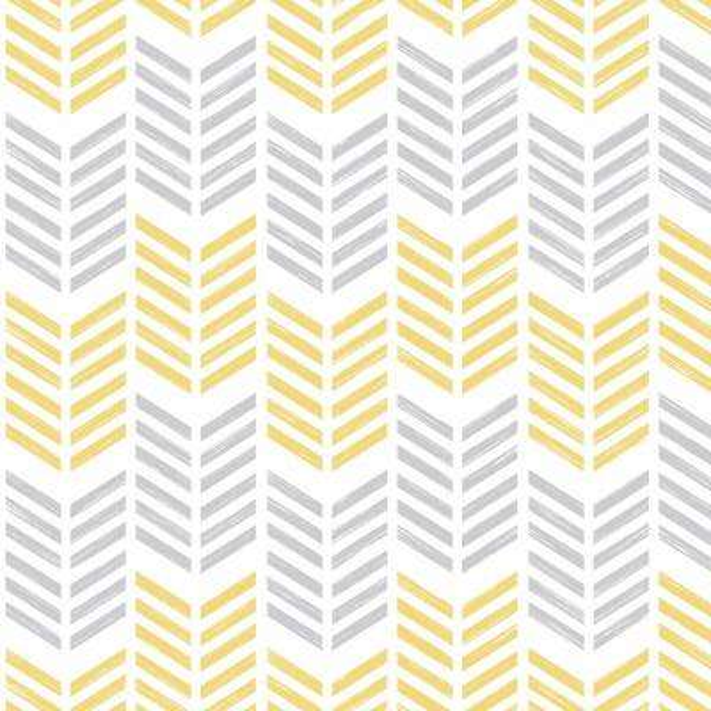 Symmetry Oiti Yellow Removable Wallpaper