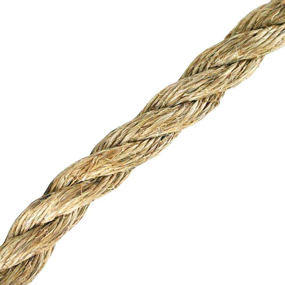 Everbilt 3/4 in. x 1 ft. Twisted Manila Rope