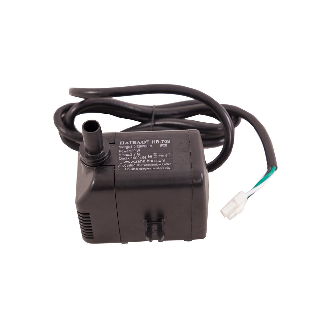 Hessaire Submersible Water Pump Replacement for Evaporative Cooler Models: MFC6000, MC61A, MC61M, MC61V