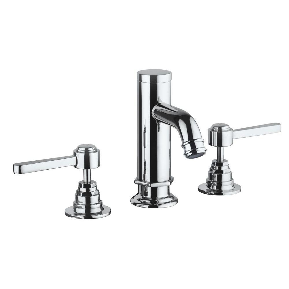 LaToscana Firenze 8 in. Widespread 2-Handle Bathroom Faucet in ...