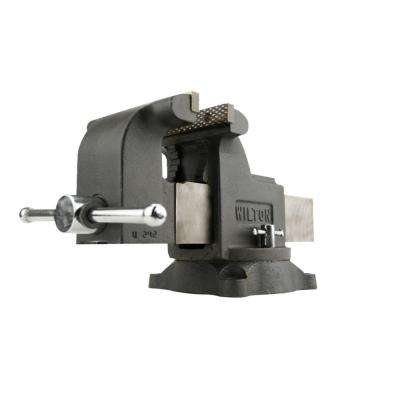 WS8 8 in. Shop Vise 4 in. Throat Depth