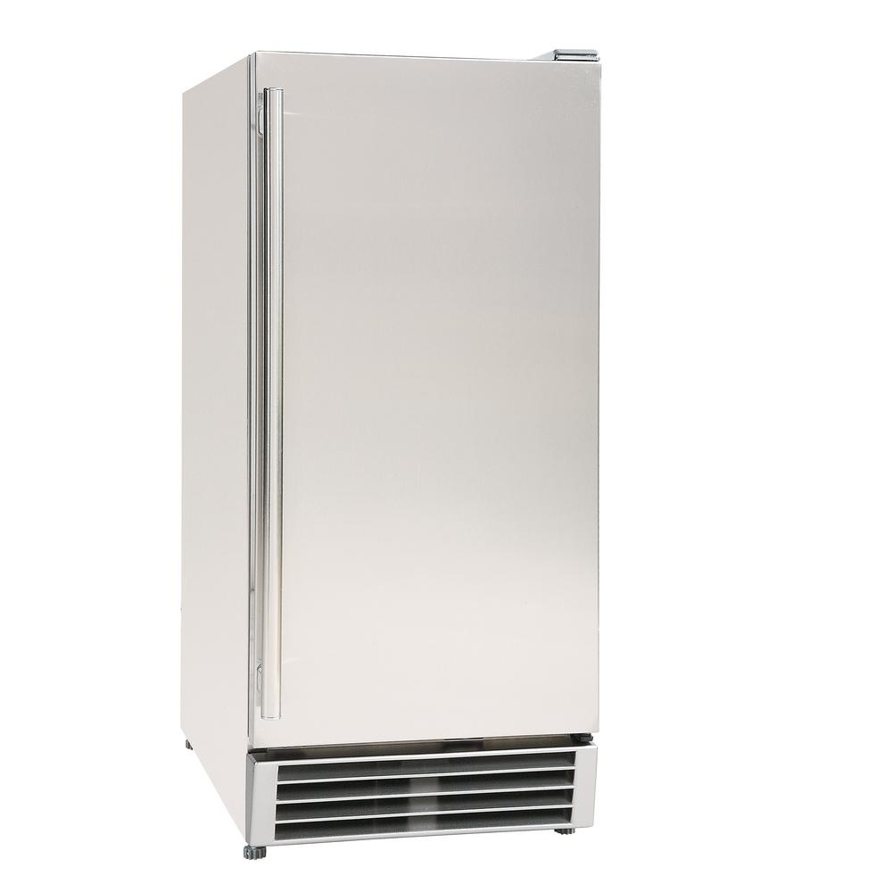 Maxx Ice 3 cu. ft. Mini Outdoor Refrigerator in Stainless Steel ...
