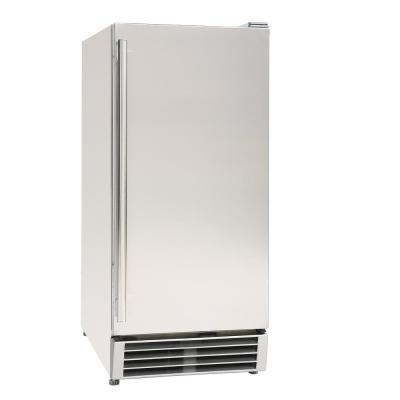 3 cu. ft. Mini Outdoor Refrigerator in Stainless Steel