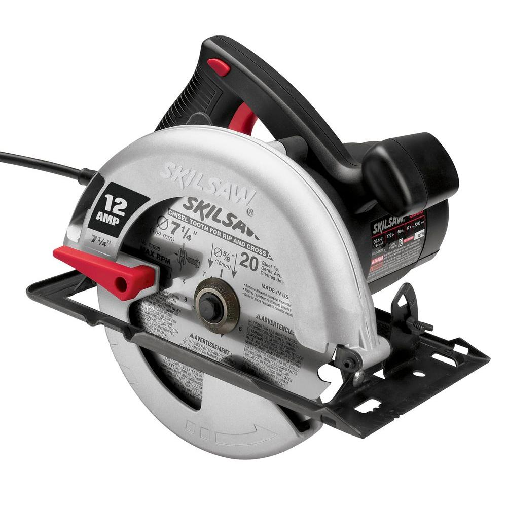 Skil factory reconditioned corded electric 7 14 in circular saw skil factory reconditioned corded electric 7 14 in circular saw with blade greentooth Image collections