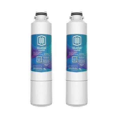 Compatible Samsung DA29-00020B Refrigerator Water Filter by Blue Fall (2-Pack)