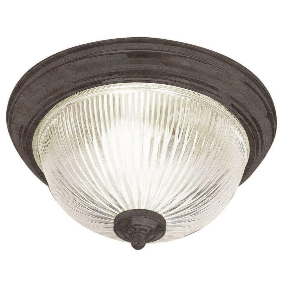 Dandridge 2-Light Oil Rubbed Bronze Flush Mount