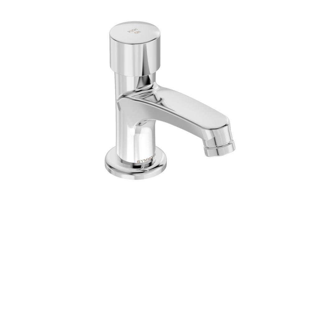 Scot Single Hole Single-Handle Metering Bathroom Faucet in Chrome