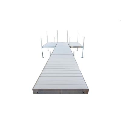 24 ft. Platform-Style Aluminum Frame with Aluminum Decking Platinum Series Complete Dock Package
