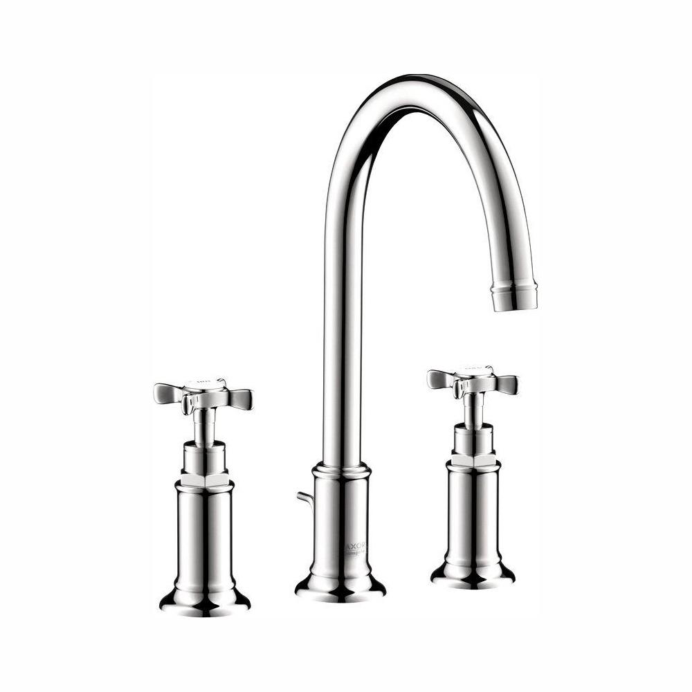 Hansgrohe Axor Montreux 8 in. Widespread 2-Handle Bathroom Faucet in Chrome