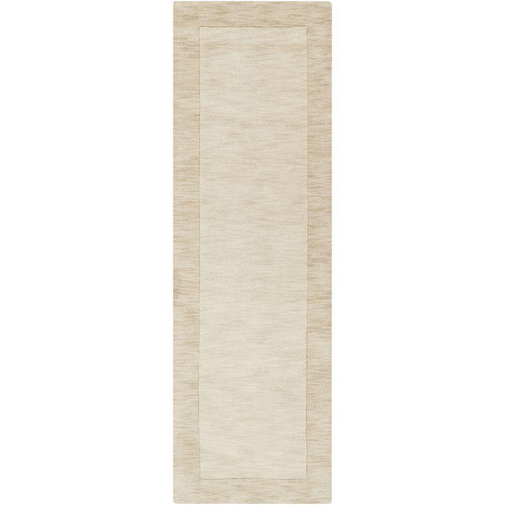 Foxcroft White 2 ft. 6 in. x 8 ft. Indoor Rug