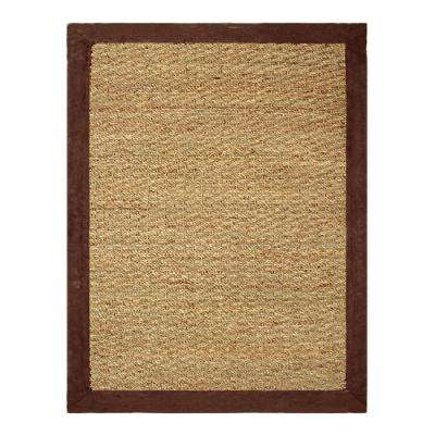 Seagrass Chocolate 3 ft. x 5 ft. Indoor Area Rug