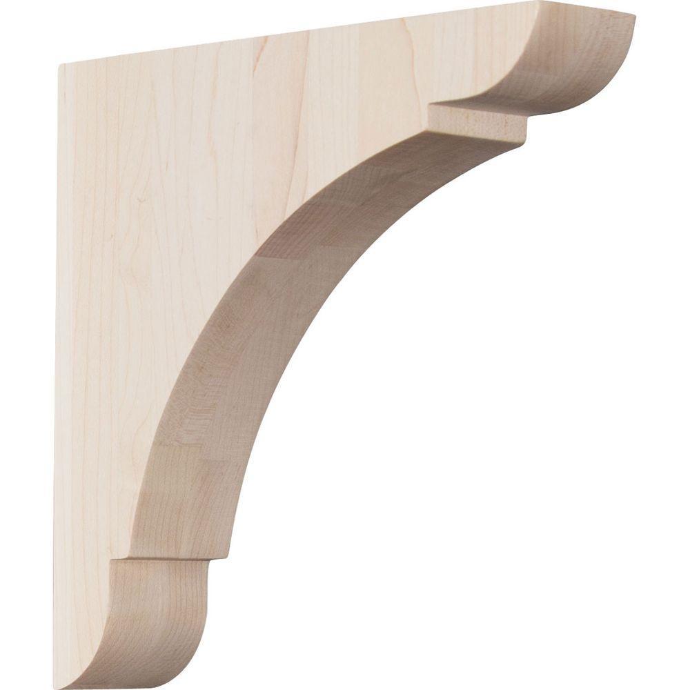 Ekena Millwork 1 3 4 In X 8 In X 8 In Rubberwood Medium