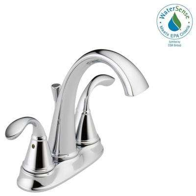 Zella 4 in. Centerset 2-Handle Bathroom Faucet in Chrome