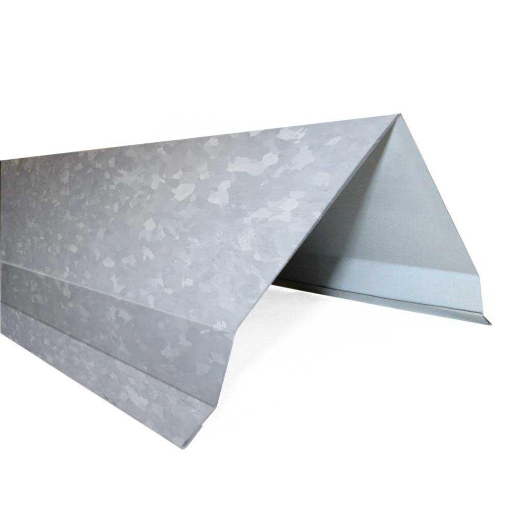 5.25 in. x 10 ft. Galvanized 29-Gauge Steel Gable Rake Roof