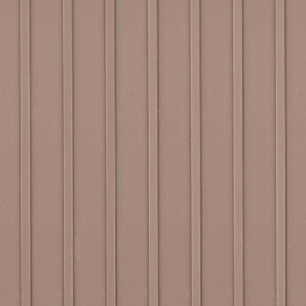 Take Home Sample - Channel Sandstone Vinyl Universal Flooring - 8 in. x 10 in.
