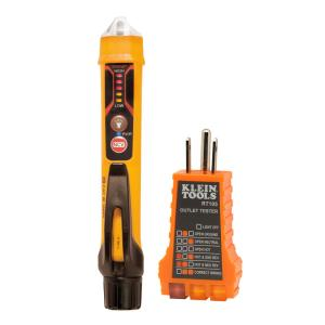 Klein Tools Non Contact Voltage Detector Electrical Test Kit