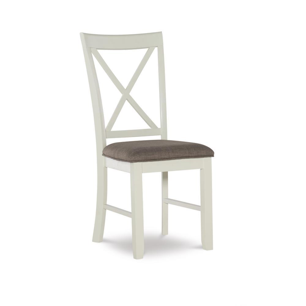 Bridgton White Side Chair