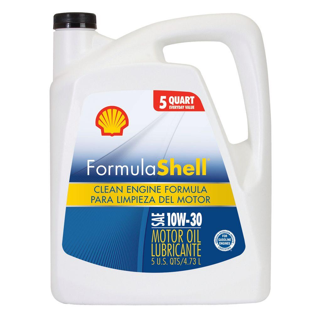 formula shell 10w30 160 fl oz motor oil 550022699 the