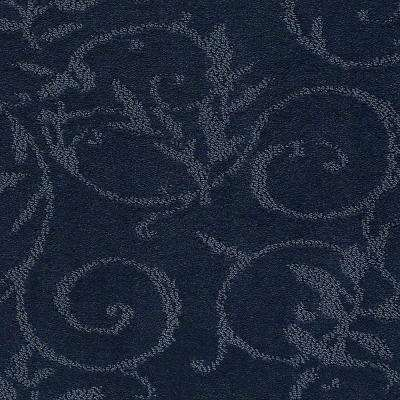 Carpet Sample - Cheriton - Color Vintage Blue Pattern 8 in. x 8 in.