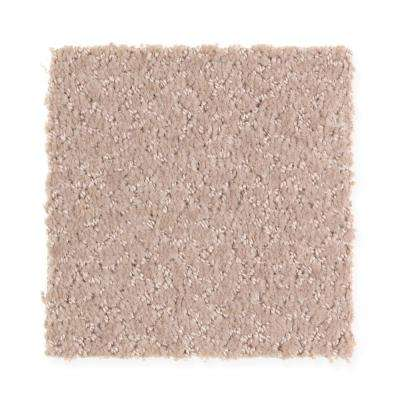Carpet Sample - Retreat - Color Gull Wing Pattern 8 in. x 8 in.