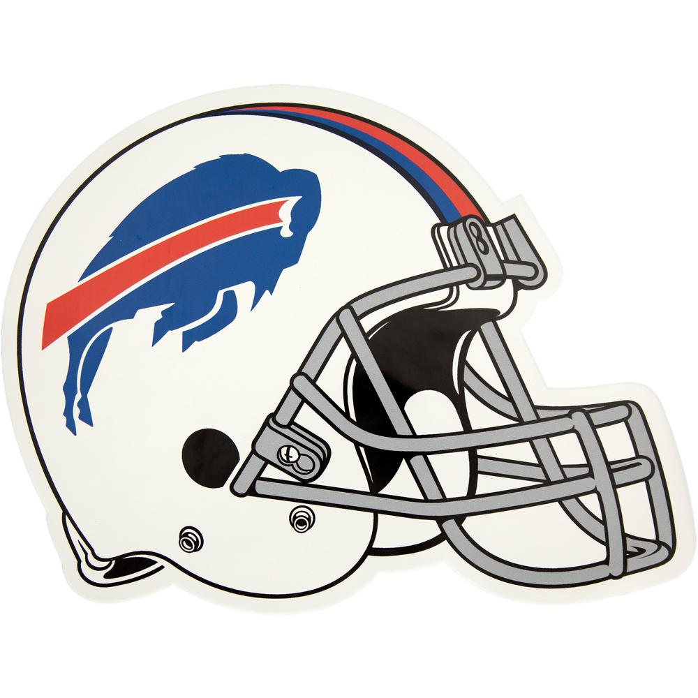f383c1b8f92 Applied Icon NFL Buffalo Bills Outdoor Helmet Graphic- Large-NFOH0403 - The  Home Depot