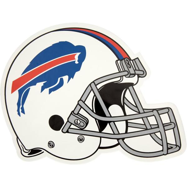 39b8842e NFL Buffalo Bills Outdoor Helmet Graphic- Large