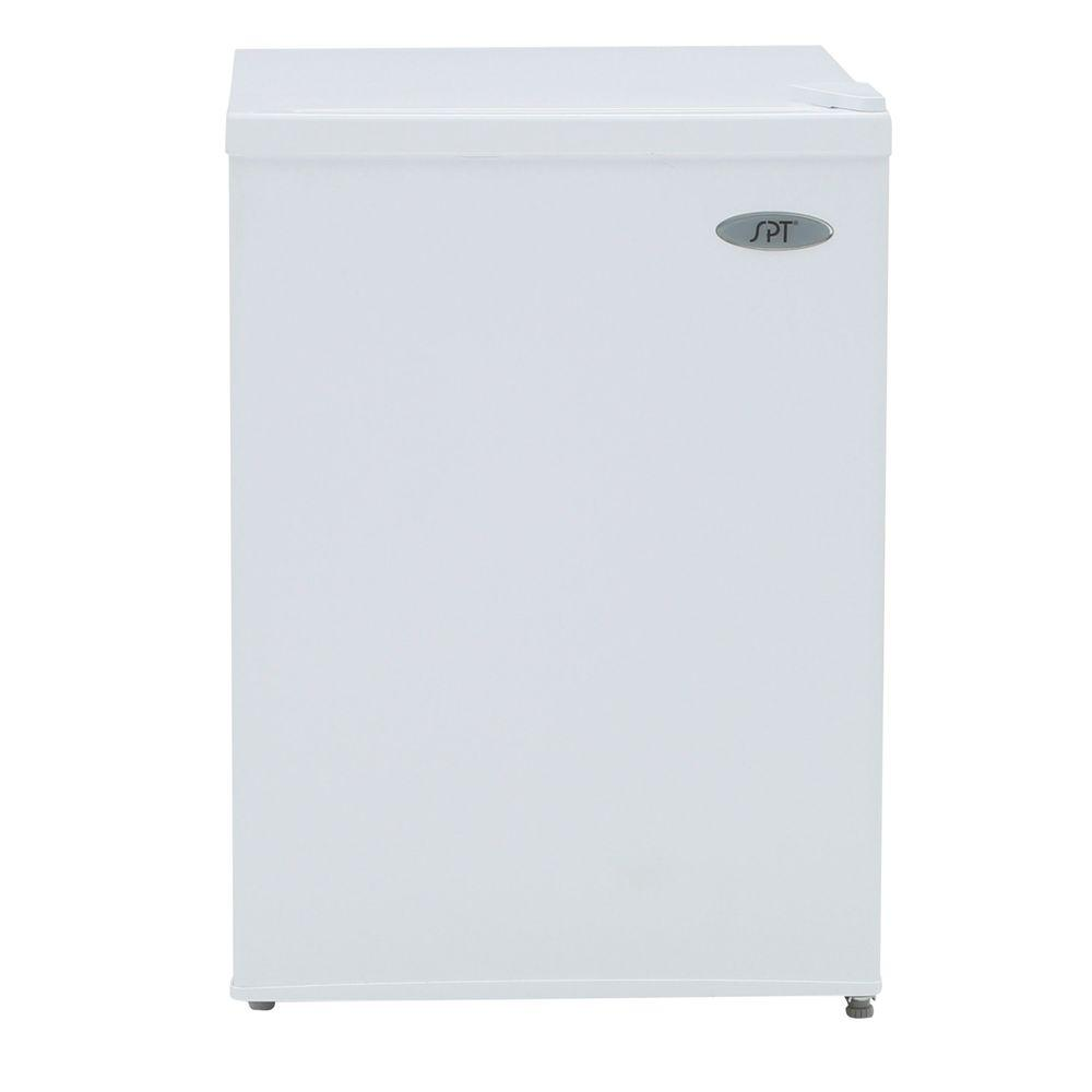 Spt 2.4 cubic feet Compact Refrigerator with Energy Star - White