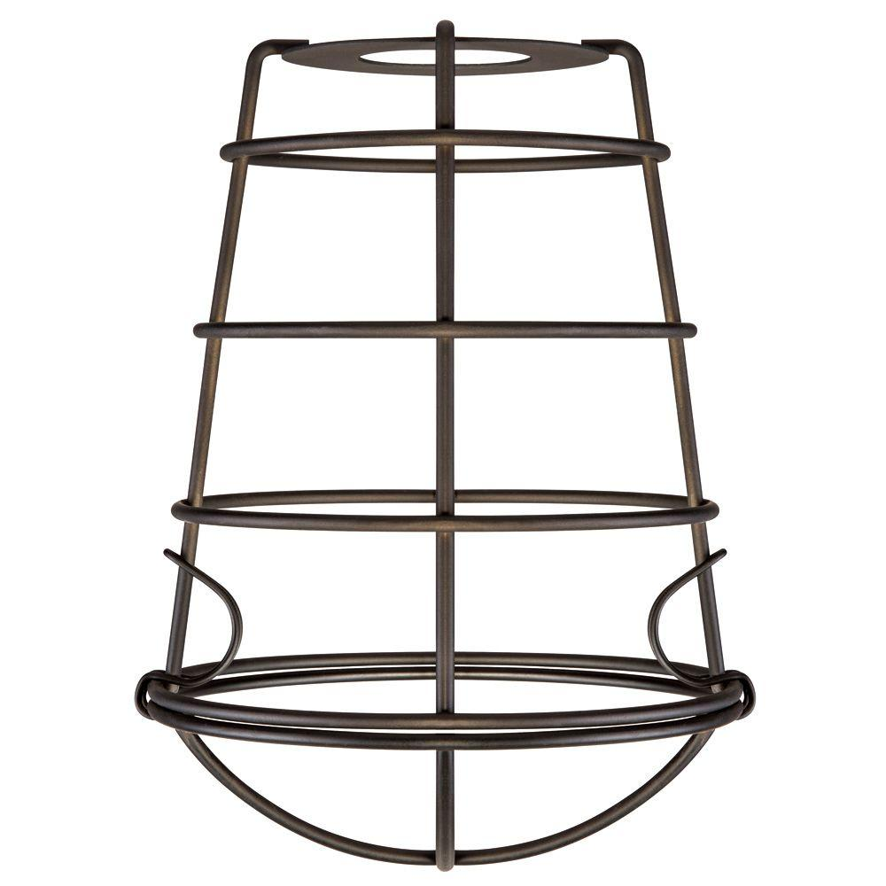 Westinghouse 8 in. Industrial Cage Fixture Shade