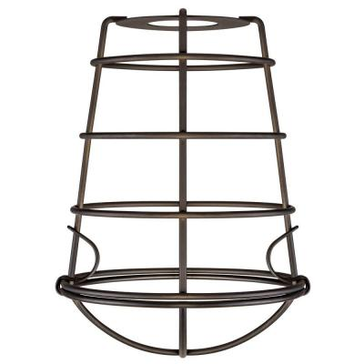 8 in. Industrial Cage Fixture Shade