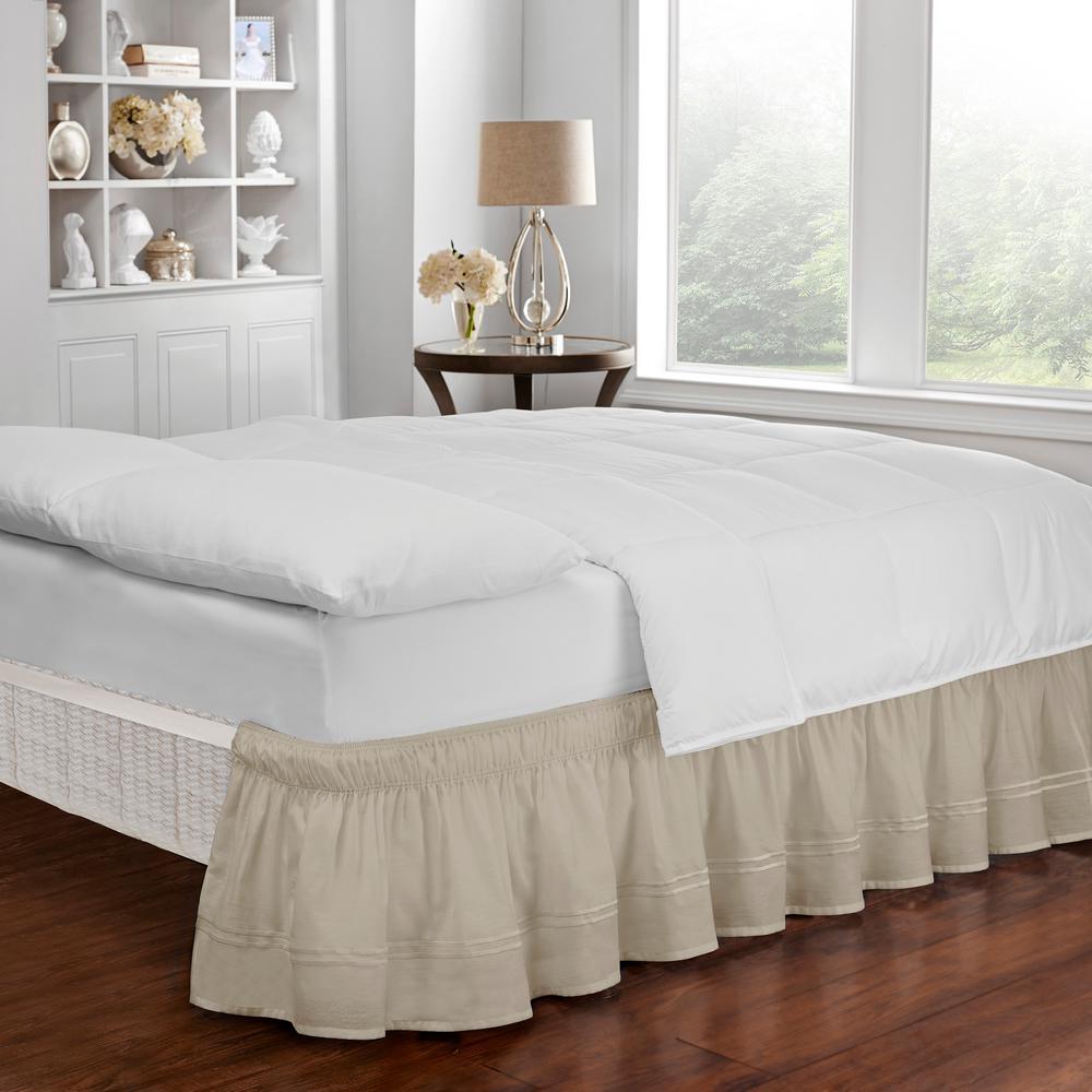 Baratta Camel Queen/King Bed Skirt
