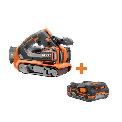 18-Volt Cordless Brushless 3 in. x 18 in. Belt Sander with 1.5 Ah Lithium-Ion Battery