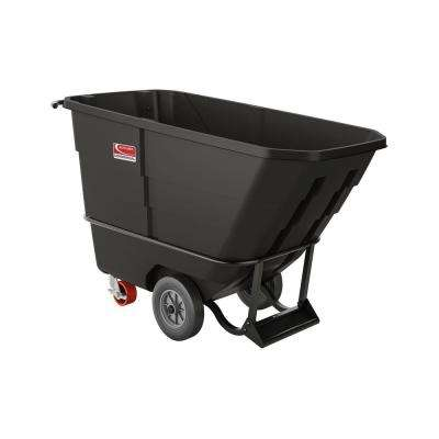 900 lbs. Capacity 1/2 yds. Standard Duty Towable Tilt Truck