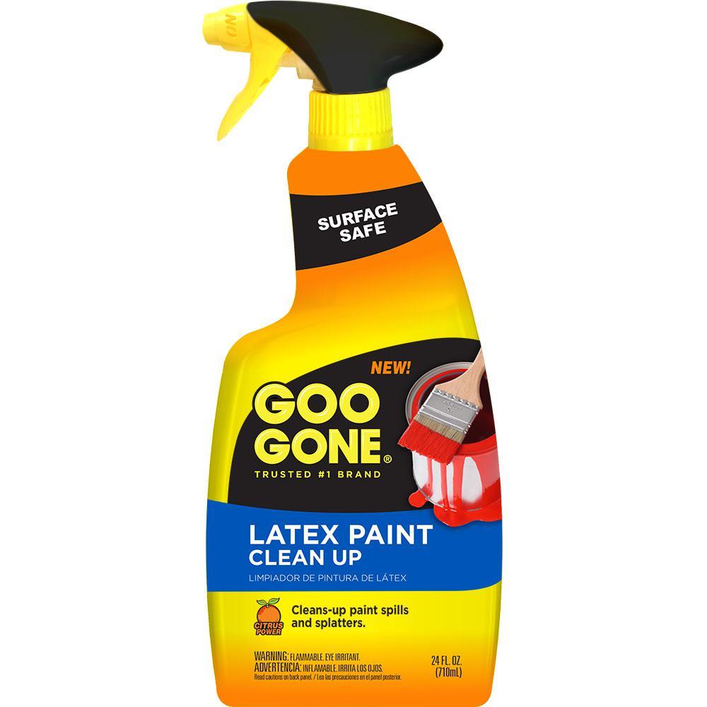 Solidify latex paint