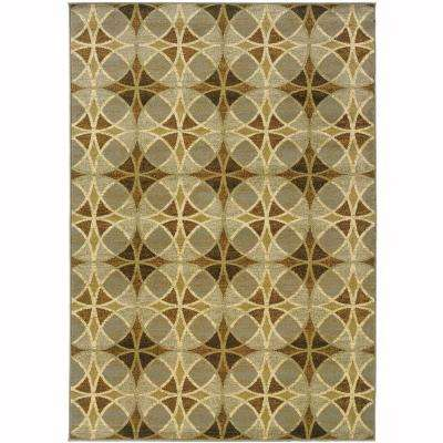 Grace Larrimah Neutral 7 ft. 10 in. x 10 ft. Area Rug